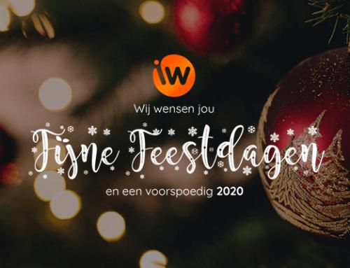 Het Interwijs team wenst je alvast fijne feestdagen!