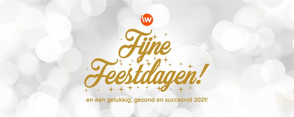Fijne feestdagen en een gelukkig, gezond en succesvol 2021!