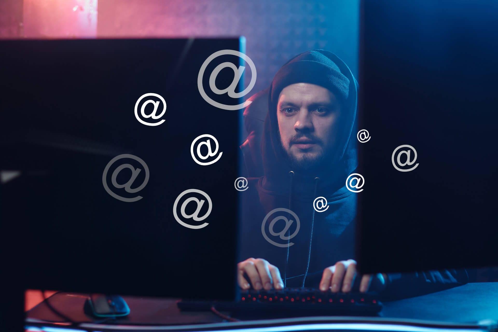 E-mail harvesting